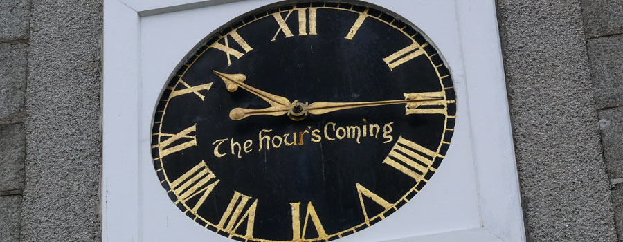 The Hour's Coming - Crimond Church Clock